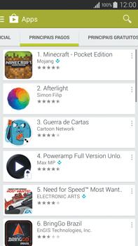 Como baixar aplicativos - Samsung Galaxy Note - Passo 7