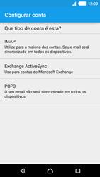 Como configurar seu celular para receber e enviar e-mails - Sony Xperia M4 Aqua - Passo 8