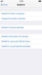 Como restaurar as configurações originais do seu aparelho - Apple iPhone 8 - Passo 5