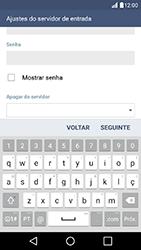 Como configurar seu celular para receber e enviar e-mails - LG K10 - Passo 12