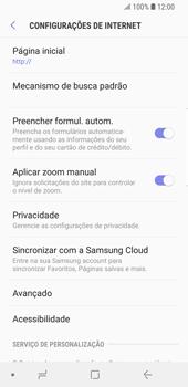 Como configurar a internet do seu aparelho (APN) - Samsung Galaxy S9 - Passo 27