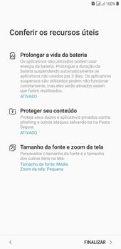 Como configurar pela primeira vez - Samsung Galaxy J4+ - Passo 19