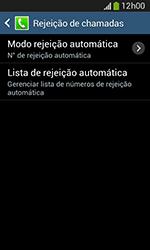 Como bloquear chamadas de um número específico - Samsung Galaxy Grand Neo - Passo 7