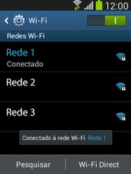 Como configurar uma rede Wi-Fi - Samsung Galaxy Pocket - Passo 7