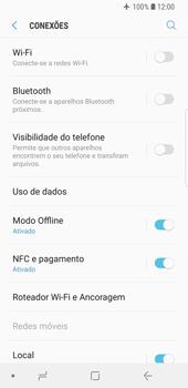 Como ativar e desativar o modo avião no seu aparelho - Samsung Galaxy S9 - Passo 5