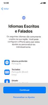 Como configurar pela primeira vez - Apple iPhone X - Passo 8