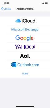 Como configurar seu celular para receber e enviar e-mails - Apple iPhone X - Passo 5