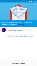 Como configurar seu celular para receber e enviar e-mails - Motorola Moto C Plus - Passo 13