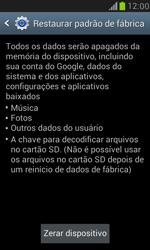 Como restaurar as configurações originais do seu aparelho - Samsung Galaxy S III Mini - Passo 6