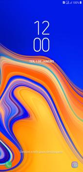 Como reiniciar o aparelho - Samsung Galaxy J4+ - Passo 6