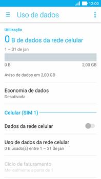 Como ativar e desativar uma rede de dados - Asus ZenFone 3 - Passo 5