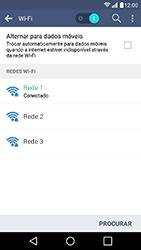 Como configurar uma rede Wi-Fi - LG K10 - Passo 8