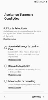 Como configurar pela primeira vez - Samsung Galaxy J6 - Passo 8
