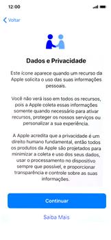 Como configurar pela primeira vez - Apple iPhone X - Passo 10