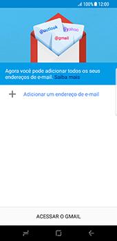 Como configurar seu celular para receber e enviar e-mails - Samsung Galaxy S8 - Passo 6