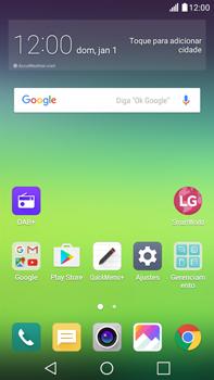 Como checar se o seu aparelho está desbloqueado para outras operadoras - LG G5 Stylus - Passo 1