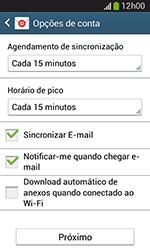 Como configurar seu celular para receber e enviar e-mails - Samsung Galaxy Grand Neo - Passo 7