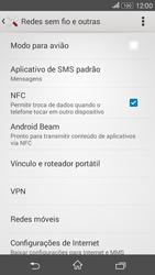 Como usar seu aparelho como um roteador de rede Wi-Fi - Sony Xperia E4G - Passo 4
