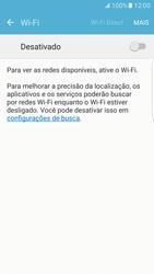 Como configurar uma rede Wi-Fi - Samsung Galaxy S7 Edge - Passo 4