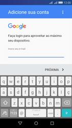 Como configurar seu celular para receber e enviar e-mails - Huawei Y6 - Passo 9