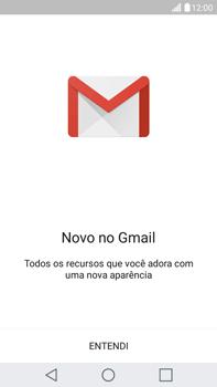 Como configurar seu celular para receber e enviar e-mails - LG G5 Stylus - Passo 4