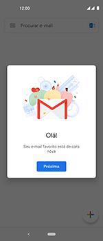 Como configurar seu celular para receber e enviar e-mails - Motorola One Vision - Passo 13
