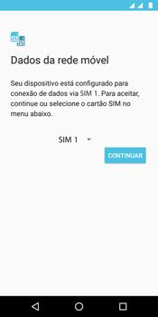 Como ativar seu aparelho - Motorola Moto G6 Play - Passo 11