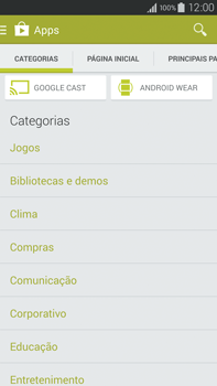 Como baixar aplicativos - Samsung Galaxy Note - Passo 6