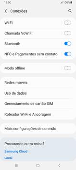 Como definir um aviso e limite de uso de dados - Samsung Galaxy A32 5G - Passo 4