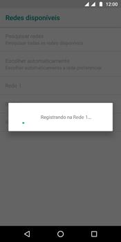 Como selecionar o tipo de rede adequada - Motorola Moto G6 Plus - Passo 10