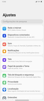 Como ativar e desativar o roaming de dados - LG Velvet 5G - Passo 3