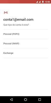 Como configurar seu celular para receber e enviar e-mails - Motorola Moto E5 - Passo 10