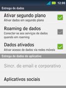 Como ativar e desativar uma rede de dados - Motorola Master - Passo 5