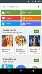 Como baixar aplicativos - Motorola Moto G (2ª Geração) - Passo 4
