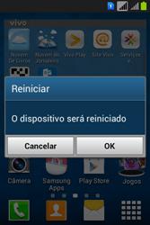 Como reiniciar o aparelho - Samsung Galaxy Young - Passo 4
