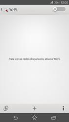 Como configurar uma rede Wi-Fi - Sony Xperia E4G - Passo 4