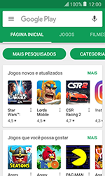 Como baixar aplicativos - Samsung Galaxy J1 - Passo 4