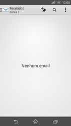 Como configurar seu celular para receber e enviar e-mails - Sony Xperia E4G - Passo 4