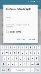 Como usar seu aparelho como um roteador de rede Wi-Fi - Samsung Galaxy S7 Edge - Passo 9