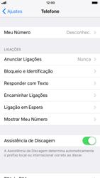 Como bloquear chamadas de um número específico - Apple iPhone 7 - Passo 4