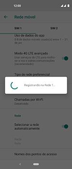 Como selecionar o tipo de rede adequada - Motorola One Vision - Passo 12