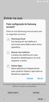 Como configurar pela primeira vez - Samsung Galaxy J4+ - Passo 18