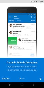 Como configurar seu celular para receber e enviar e-mails - Motorola Moto G6 Play - Passo 10