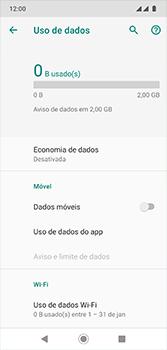 Como ativar e desativar uma rede de dados - Motorola Moto G7 - Passo 7