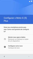 Como ativar seu aparelho - Motorola Moto G5 Plus - Passo 4