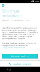 Como configurar pela primeira vez - Motorola Moto X (2ª Geração) - Passo 6