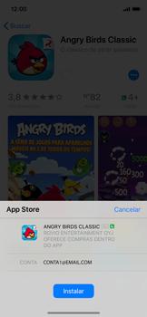 Como baixar aplicativos - Apple iPhone X - Passo 14