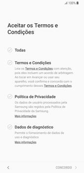 Como configurar pela primeira vez - Samsung Galaxy S9 - Passo 8