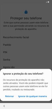 Como configurar pela primeira vez - Samsung Galaxy A10 - Passo 14