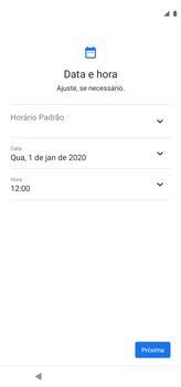 Como configurar pela primeira vez - Motorola Moto G8 Power - Passo 6